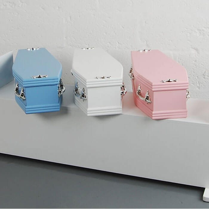 Childrens Coffin Range Colours